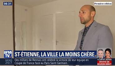 Saint-Étienne, la grande ville où l'immobilier est le moins cher de France